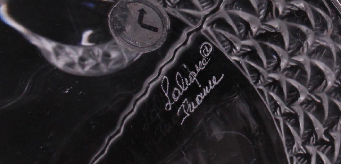 Lalique Crystal Decanters (two) - 3