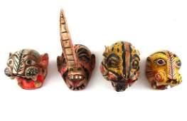Mexican Masks four
