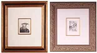 Rembrandt Van Rijn (1606-1669) & Pierre August Renoir
