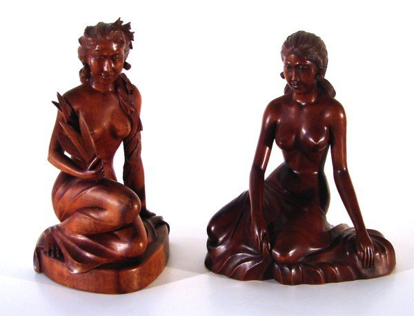17: Balinese Master Carvings (pair)