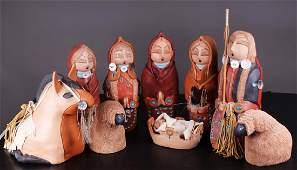 Southwestern Art: Cheyenne Jim (b. 1957) Navajo Nation