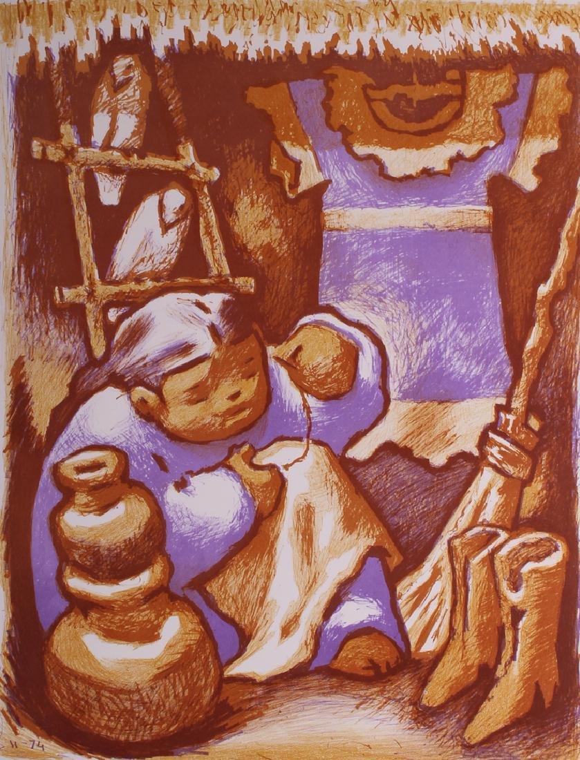 Jean Charlot (1898-1979) France/ Hawaii (thirteen),