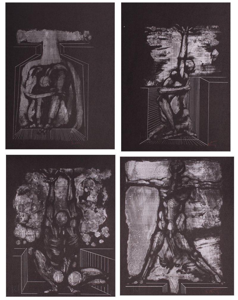 Jan Stussy (1921-1990) California (sixteen), EUROPA & - 3