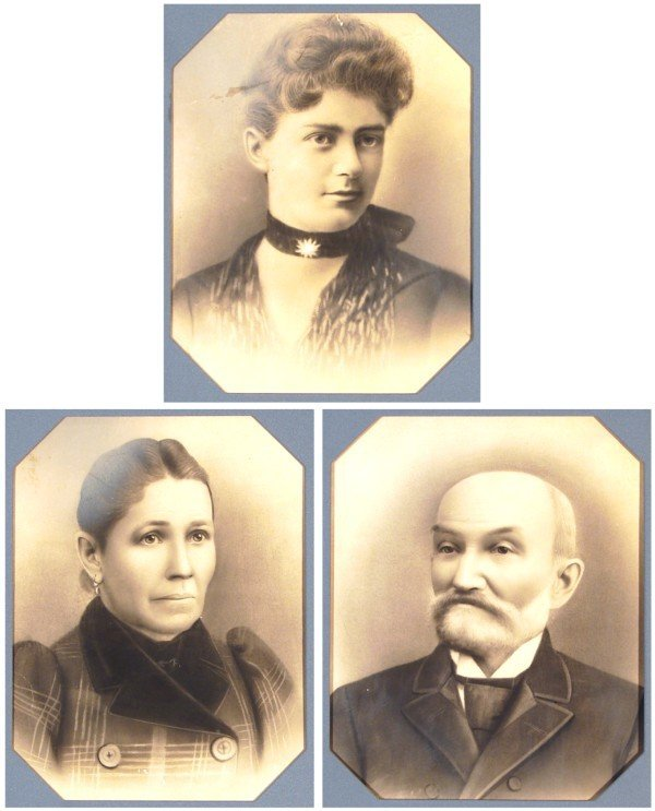 1: 18th/ 19th Century Portraits (three)