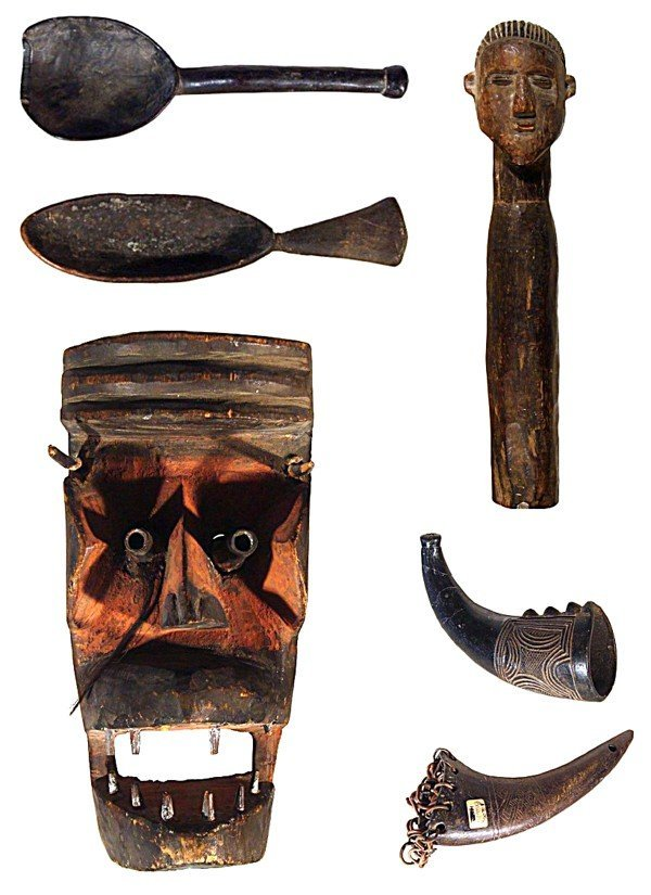 5: African Sculpture (six)