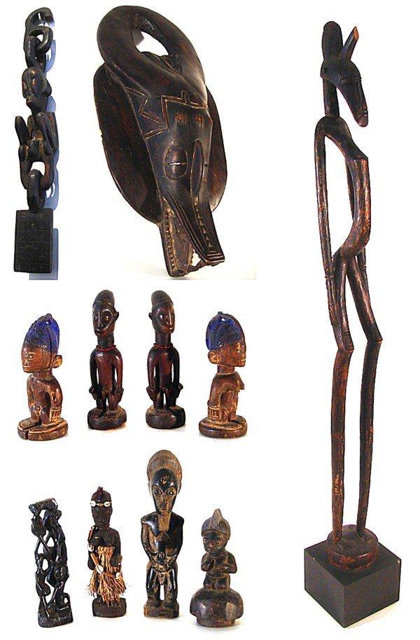 6: African Sculptures (eleven)