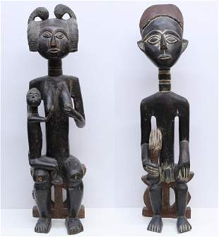 African Statues (two)