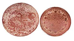 Middle Eastern Lustre Ware (two)