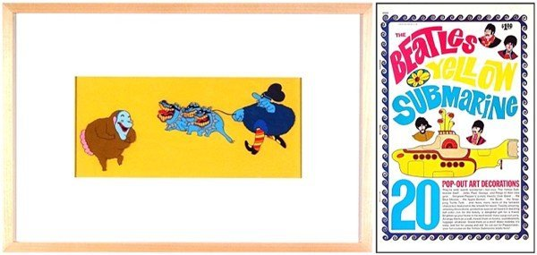 11: Animation: The Beatles 'Yellow Submarine' (two)