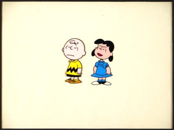 12: Animation Cel: Charles Schultz Production