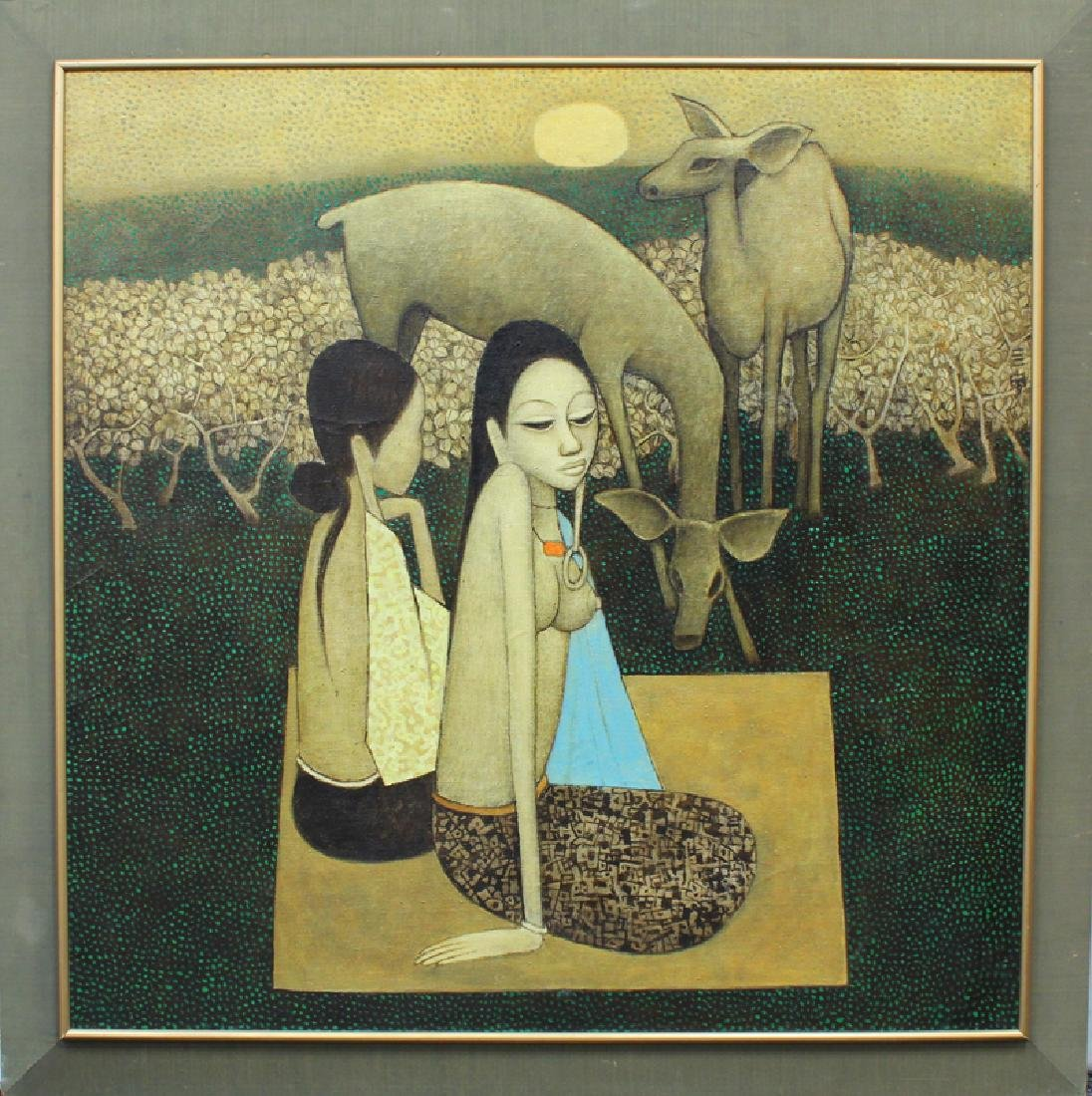 Cheong Soo Pieng (1917-1983) Chinese
