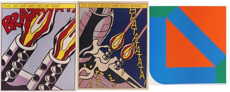 Roy Lichtenstein (1923-1997) New York (2) & Georg Karl