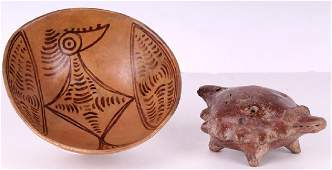 Pre-Columbian: Costa Rican Pottery (two)