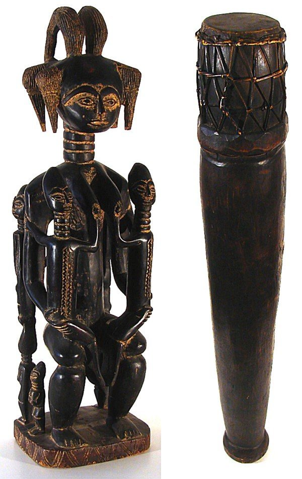 306: African Sculptures (two)