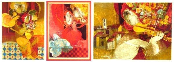 311: Sunol Alvar (b. 1935) Spanish (three)