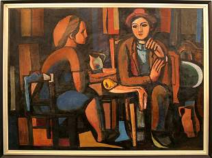 Sandor Botos (1921-1997) Hungarian