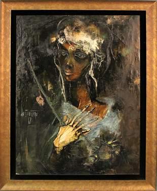 Regis Bouvier De Cachard (b. 1929) French/ California