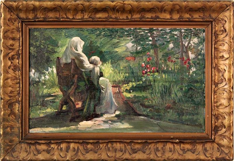 Annie Huntington Allen  (1858-1946) Ohio/ California