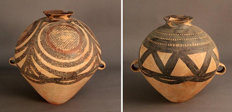 Antique or Ancient Pottery  (two)