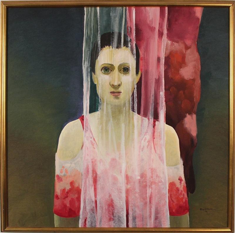 Morris Broderson  (1928-2011) California
