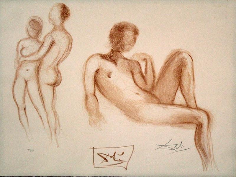 Salvador Dali  (1904-1989) Spanish