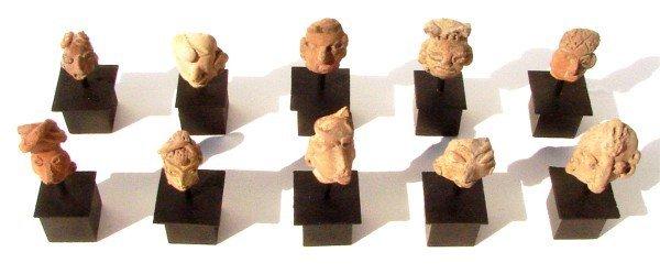 7: Pre-Columbian Artifacts (ten)