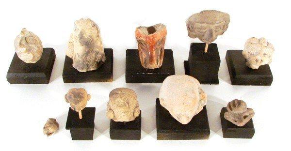 10: Ancient Ceramics & Pre-Columbian Pottery (ten)