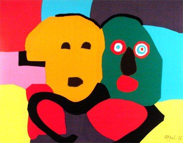18: after Karel Appel (1921-2006) Dutch