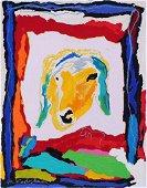 Menashe Kadishman (1932-2015) Israel