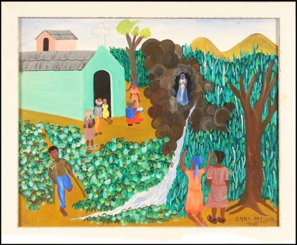 55: Gary Altidor (20th Century) Haitian