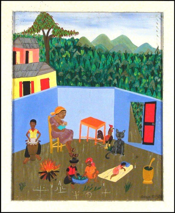 56: Gary Altidor (20th Century) Haitian