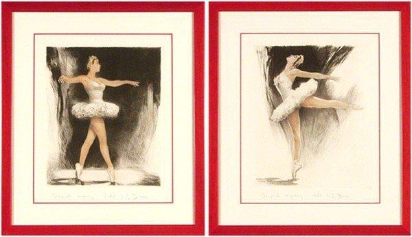 72: Ballet etchings