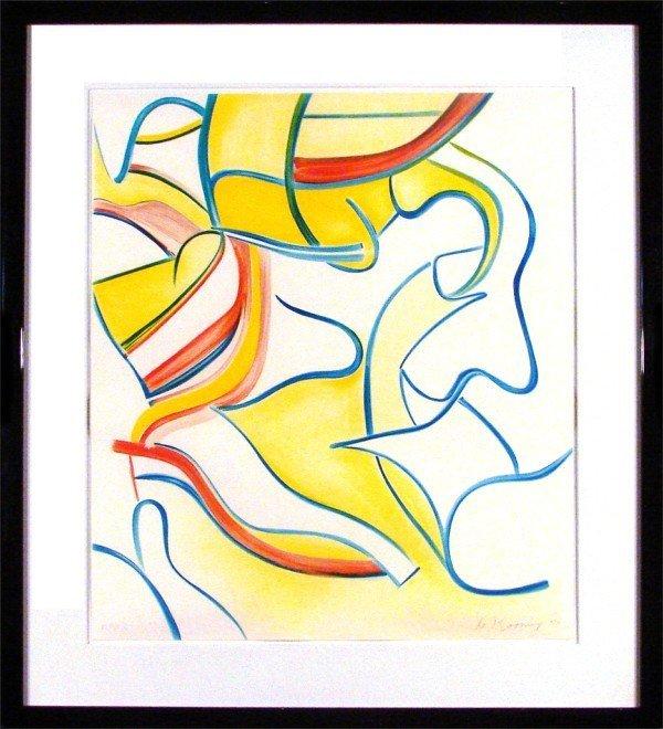 211: Willem De Kooning (1904-1997) Dutch