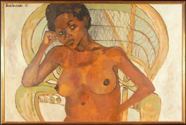 342: Luce Turnier (1924-1994) Haitian