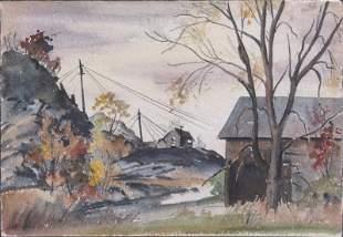 Elsa Bley (1903-1990) Vermont New York