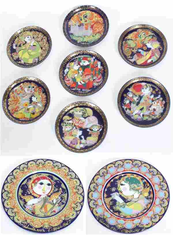 Decorative Art: Bjorn Wiindblad for Rosenthal Porcelain