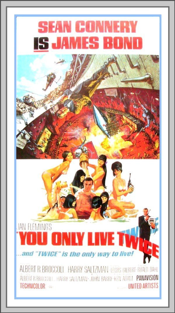 379: Original Movie Poster: You Only Live Twice (James