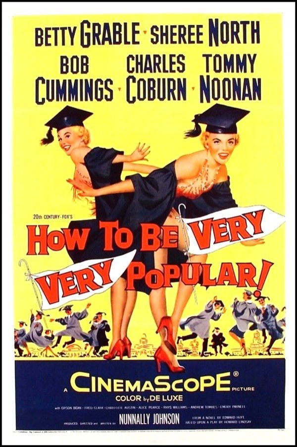 383: Original Movie Poster: How To Be Very Very Popular