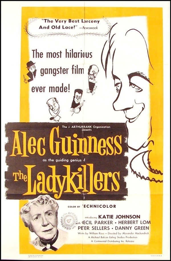 384: Original Movie Poster: The Lady Killers (Alec Guin