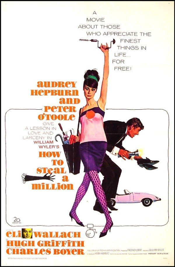 392: Original Movie Poster: How To Steal A Million (Aud