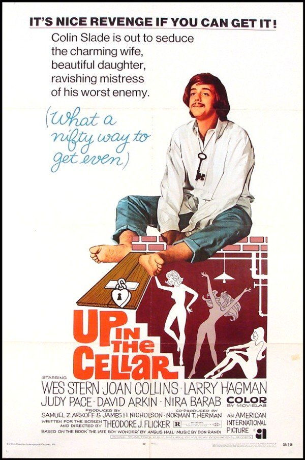 394: Original Movie Poster: Up The Cellar (Joan Collins