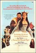 437 Original Movie Poster Ann Of The Thousand Days R