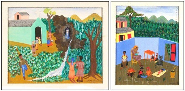 3: Gary Altidor (20th Century) Haitian (two)