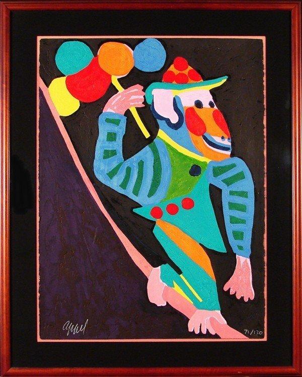 7: Karel Appel (1921-2006) Dutch