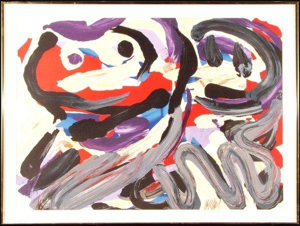 8: Karel Appel (1921-2006) Dutch