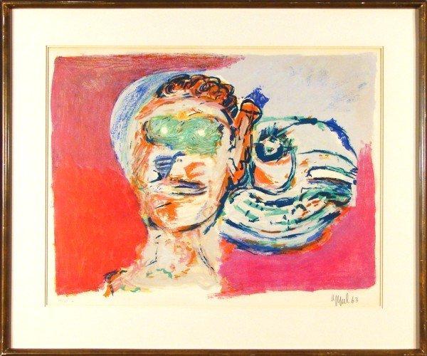 9: Karel Appel (1921-2006) Dutch