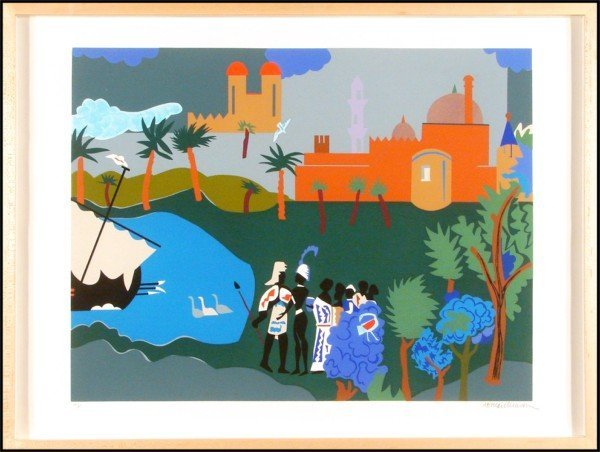 23: Romare Beardon (1914-1988) American