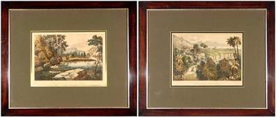 57 Currier  Ives Publishers two