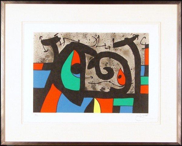 184: Joan Miro (1893-1983) Spanish
