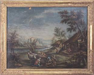 Antique Painting Artist Unidentified
